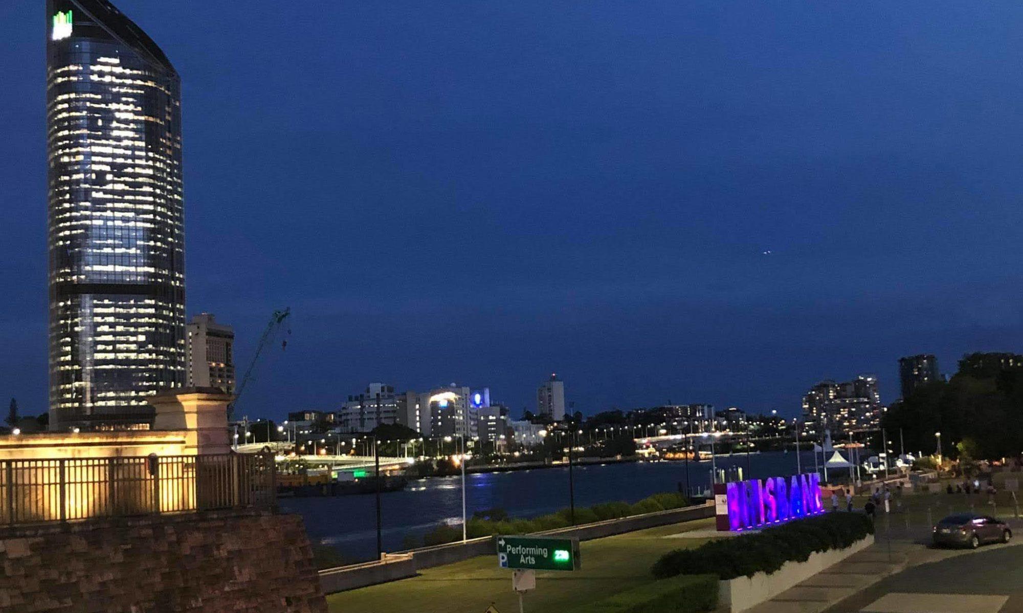 ブリスベンの夜景